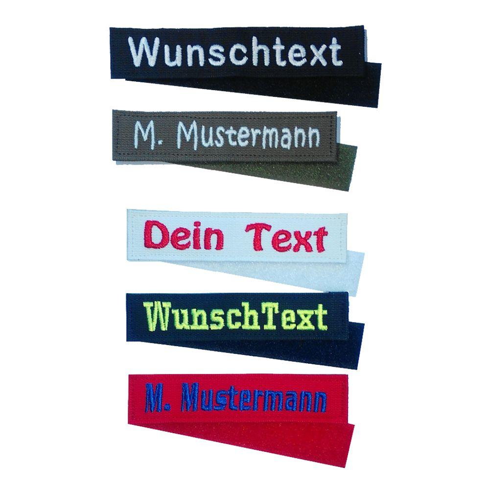 Namensschild MIT KLETT 12 x 2,5 cm